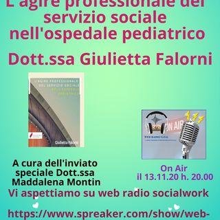 Giulietta Falorni. L'agire professionale del servizio sociale nell'ospedale pediatrico