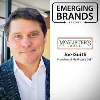 Joe Guith, President of McAlister's Deli