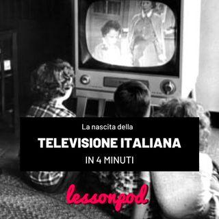 La nascita della televisione italiana in 4 minuti