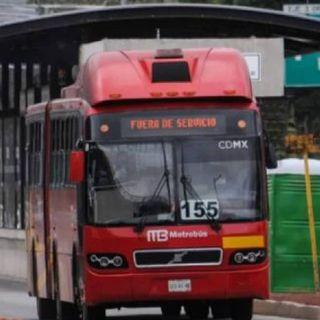 Metrobús cerrará estaciones de Línea 2 de forma escalonada