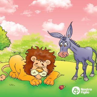 L'asino e il leone a caccia
