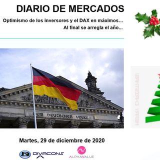 DIARIO DE MERCADOS Martes 29 Dic