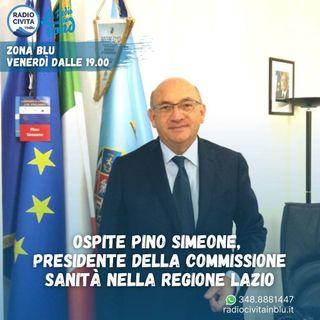 Vaccini nel Lazio, intervista a Pino Simeone