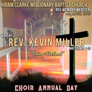 Hiram Clarke MBC 8.26.18 - Reverend Kevin Miller Sermon