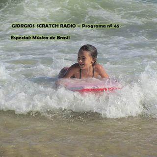 GIORGIOS SCRATCH RADIO - Programa nº 45 (Especial Música de Brasil)