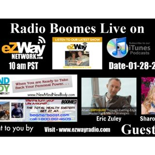 Radio Boomers Live S8 Ep 8 Feat. Eric Zuley & Sharon Doyle