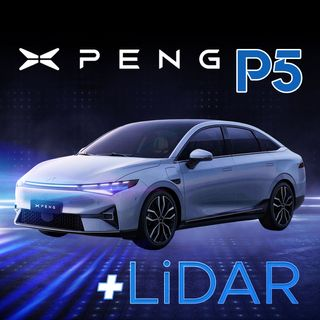 56. XPeng P5 Reveal | LiDAR Smart EV with 32 Perception Sensors | $XPEV