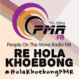 #HolaKhoebongPMR Episode: Erik Wa Azaniah talking to Max Tshepe of Max Fashion Design in Lesotho