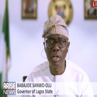 Lekki Massacre: Sanwo - Olu Says Security Cameras For The Lekki Toll Plaza Are Still Available.