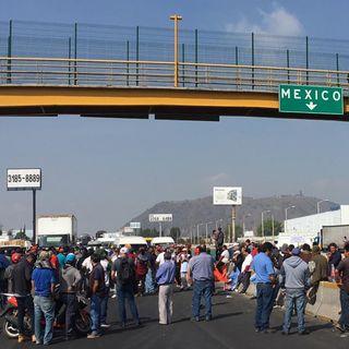 Manifestantes bloquean carreteras de CDMX