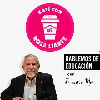 """10 - Francisco Mora Teruel - """"Educar significa enseñar cómo comportarnos con los demás haciéndolo emocionalmente comprensible"""""""""""