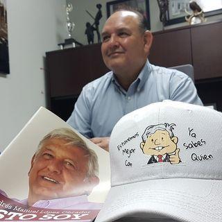 """""""El triunfo de AMLO es inevitable"""": Santos González"""