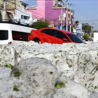 Granizada en Jalisco, la peor en 25 años