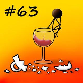 Ammazzacaffè - 63 - Un bicchiere di lakka con un kalakukko