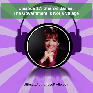 Sharon Sarles-Government Isn't a Village