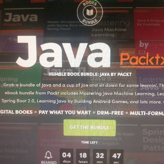 Humble Book Bundle: Java By Packt