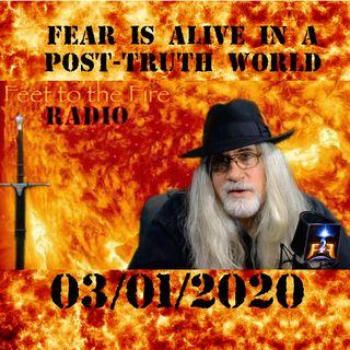 F2F Radio - Fear Reigns in a Post Truth World