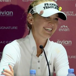 FOL Press Conference Show-Tues July 23 (Evian-Jessica Korda)
