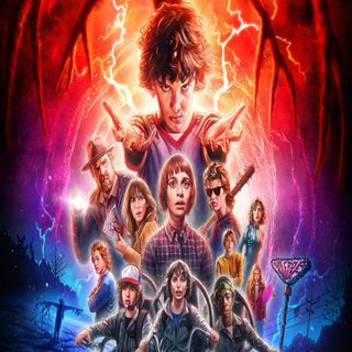 Stranger Things Season 2 and Let the Right One in