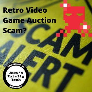 Retro Video Game Auction Scam?