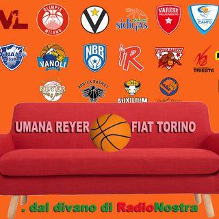 il basket dal divano