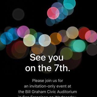 Apple keynote 7 Septiembre
