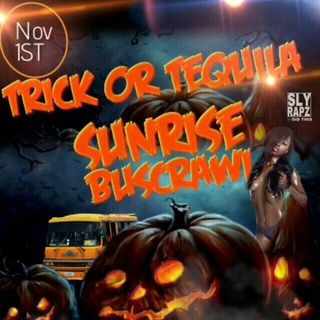 trick or tequila the sunrise buscrawl nov1st - dj quik rated x entertainment