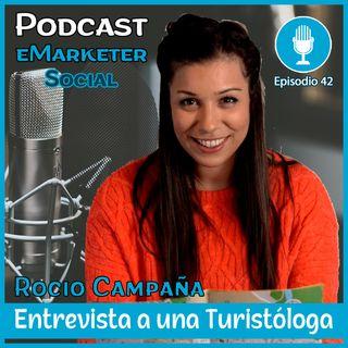 042 🚀 Entrevista 🎤 Rocío Campaña de 🏄♀️ TURISTIPEDIA
