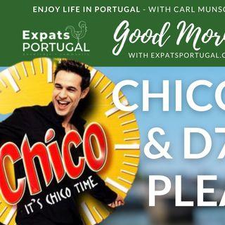 'Chico Time!', HU Breathing & D7 Visa pleaser on Good Morning Portugal!
