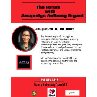 The Forum with Jacquelyn Anthony Bryant