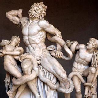 Fund der Laokoon-Gruppe in Rom (am 14.01.1506)
