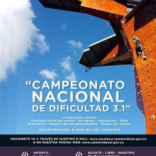 CAMPEONATO NACIONAL DE ESCALADA