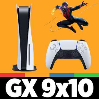 GAMELX 9x10 - PlayStation 5, análisis del DualSense y de Spider-man Miles Morales