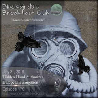 Hidden Hand Authorizes European Fumigation - Blackbird9 Podcast