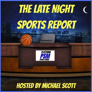 The Late Night Sports Report Promo (Coming Soon)