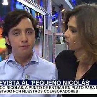 Habla el pequeño Nicolás