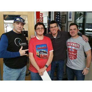 Completely Damaged Radio w/ NASCAR Driver & Pro Wrestler Mike Senica