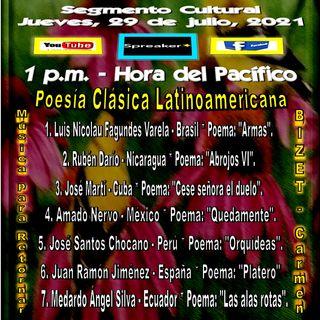 Poesía Clásica Latinoamericana * Ópera Bizet * Carmen