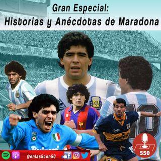 Diego Maradona: Historias y Anécdotas