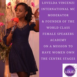 Lovelda Vincenzi on her mission for more women Speakers to take center Stage