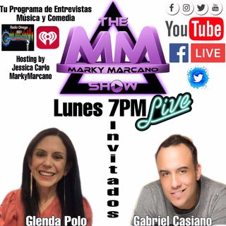 TONIGHT -INVITADOS INSTRUCTORA @Glenda Polo  -EL CANTANTE Gabriel Casiano Powered by TheMMTV Studios