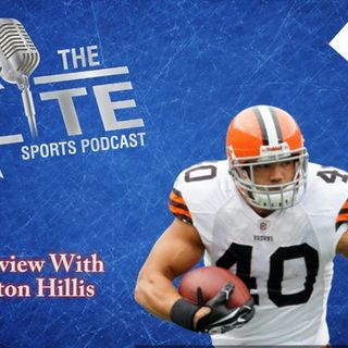 Interview with former NFL RB Peyton Hillis