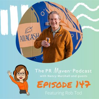Episode 147: How innovation, sustainability and employee wellness build a brand, with Rob Tod, owner of Allagash Brewing Company