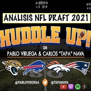 Análisis #NFLDraft #Jaguars #Bills #Broncos #Patriots con @TapaNava y @PabloViruega