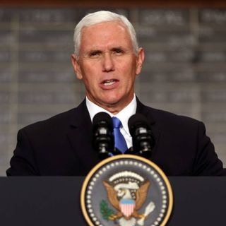 Vice President Pence Condemns Hate
