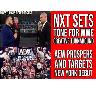 NXT Sets Tone For WWE Creative Turnaround | AEW Prospers and Targets New York Debut KOP061721-619