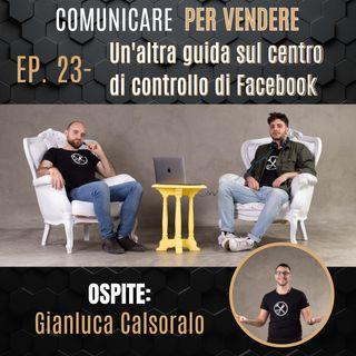 Episodio 23 - Un'altra guida sul centro di controllo di Facebook