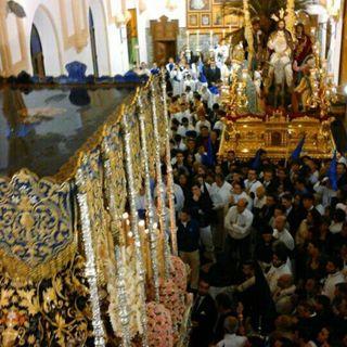 Domingo de Ramos 2016. Cristo Rey por Plaza Ntro. Padre Jesús de la Sagrada Cena.