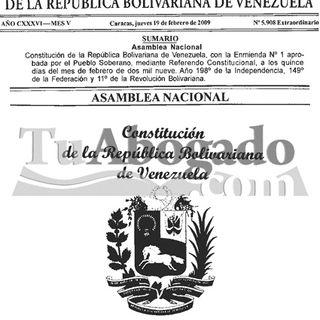 Constitución de Venezuela Arts del 136 al 252 @AudioLey @LeyesVenezuela