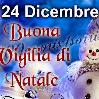 BUONA VIGLIA DI NATALE - con Claudio Salvi con black & white e poi GO MUSIC con Gianni Cianci